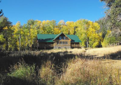 Lodge in Fall